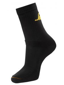 Snickers 9211 AllroundWork, 3-pack Basic Socks - Black