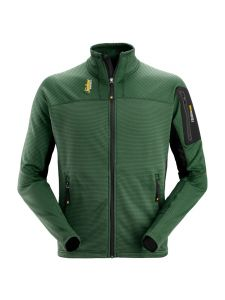 Snickers 9438 Body Mapping Micro Fleece Jacket - Forest Green