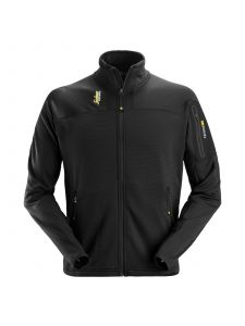 Snickers 9438 Body Mapping Micro Fleece Jacket - Black