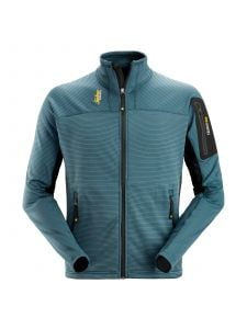 Snickers 9438 Body Mapping Micro Fleece Jacket - Petrol