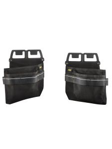 Snickers 9796 Nail & Screw Pouches - Black