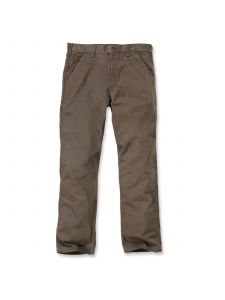 Carhartt B324 Washed Twill Dungaree - Dark Coffee