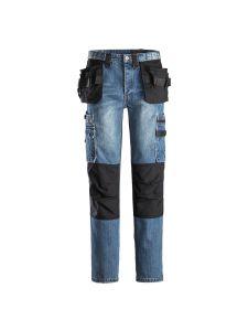 Dunderdon P12 Work Trousers Cordura Denim - Stonewashed