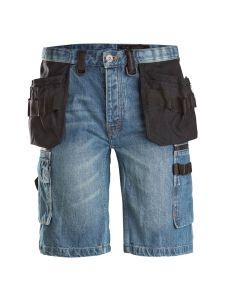 Dunderdon P55s Denim Short Trousers - Stonewashed