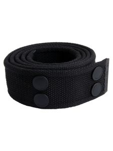 Dunderdon BE01 Canvasbelt - Black/Black