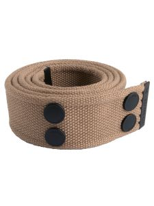 Dunderdon BE01 Canvasbelt - Khaki/Black