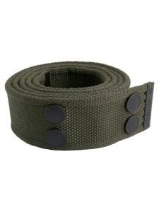 Dunderdon BE01 Canvasbelt - Olive/Black