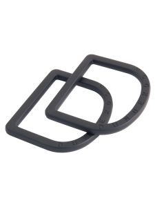 Dunderdon DR1 D-Ring Buckle - Black