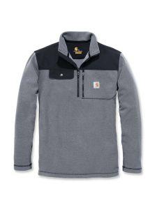 Carhartt 102836 Fallon Half-Zip Sweatshirt - Charcoal