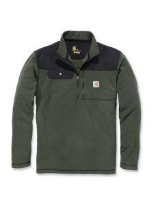 Carhartt 102836 Fallon Half-Zip Sweatshirt - Olive