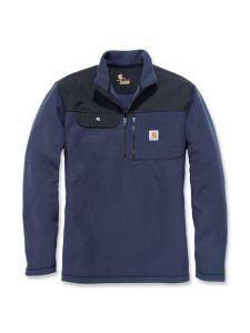 Carhartt 102836 Fallon Half-Zip Sweatshirt - Navy