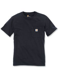 Carhartt 103067 Women's Pocket s/s T-Shirt - Black