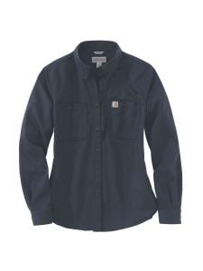 Carhartt 103106 Women's Rugged Shirt l/s - Navy