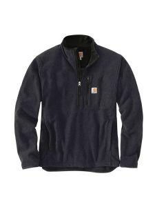Carhartt 103831 Dalton Half Zip Fleece - Black heather