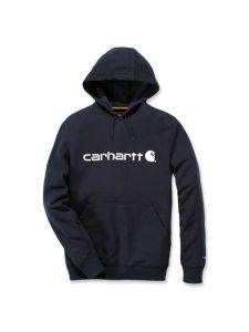 Carhartt 103873 Delmont Graphic Hooded Sweatshirt - Navy Heather