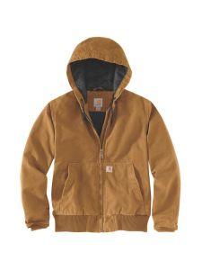 Carhartt 104053 Women's Washed Duck Active Jacket - Carhartt Brown