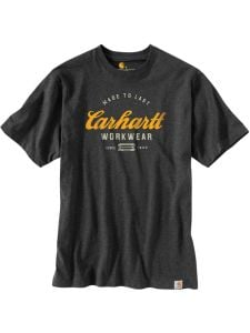 Carhartt 104181 Made To Last T-Shirt - Carbon Heather