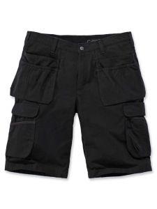 Carhartt 104201 Steel Multipocket Shorts - Black