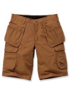 Carhartt 104201 Steel Multipocket Shorts - Carhartt Brown