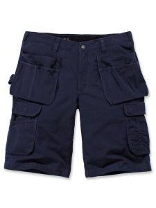 Carhartt 104201 Steel Multipocket Shorts - Navy