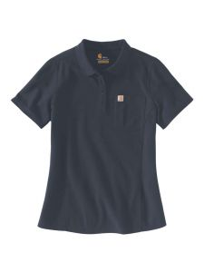 Carhartt 104229 Women's Polo s/s - Navy