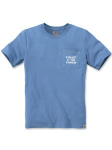 Carhartt 104363 Graphic Pocket T-Shirt - French Blue