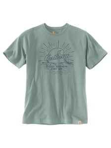 Carhartt 104546 Southern water graphic t-shirt - Blue cast