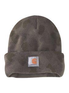 Carhartt 104557 Camo Watch Hat - Tarmac Duck Camo