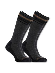 Carhartt A774-2 Cold Weather Thermal Sock 2-Pair - Grey