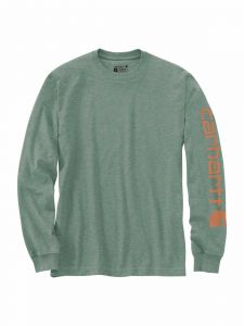 Carhartt EK231 T-Shirt Logo Long Sleeve
