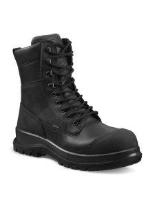 Carhartt F702905 Men's Detroit Rugged Flex® Waterproof Insulated S3 High Safety Work Boot - Black