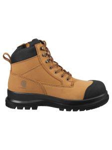 Carhartt F702923 Detroit 6-Inch Zip Rugged Flex S3 Safety Boot - Wheat
