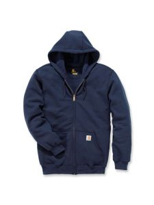 Carhartt K122 Midweight Hooded Zip Front Sweatshirt - New Navy