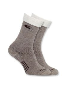 Carhartt WA435 Women's Cold Weather Boot Sock - Khaki
