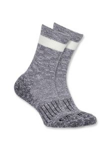 Carhartt WA768 Women's All Season Crew Sock - Black