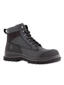 Carhartt F702903 Men's Detroit Rugged Flex® S3 Mid Safety Work Boot - Black