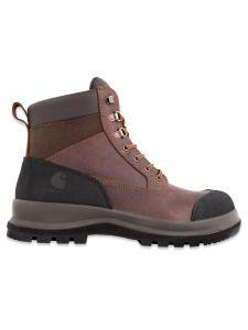Carhartt F702903 Men's Detroit Rugged Flex® S3 Mid Safety Work Boot - Dark Brown
