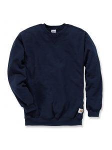 Carhartt K124 Midweight Crewneck Sweatshirt - New Navy