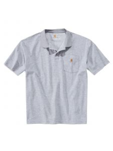 Carhartt K570 Contractor's Work Pocket Polo - Heather Grey