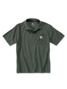 Carhartt K570 Contractor's Work Pocket Polo - Moss