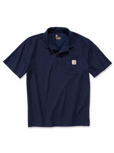 Carhartt K570 Contractor's Work Pocket Polo - Navy