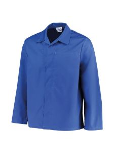 Low Care Work Jacket Brugge Royal Blue - Orcon Workwear