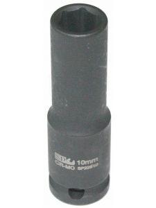 Socket 3/8' Dr Metric Long Impact 6point - SP Tools