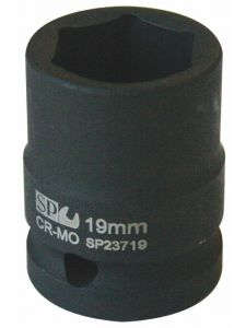 Socket 1/2' Dr Metric Impact 6Point - SP Tools