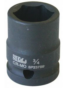 Socket 1/2' Dr Inch Impact 6Point - SP Tools