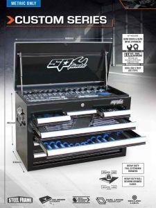 SP Tools SP00112 Custom Series Toolbox 105pc