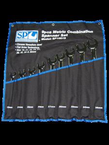 Combination Spanner Set 9pc Metric - Jumbo - SP Tools