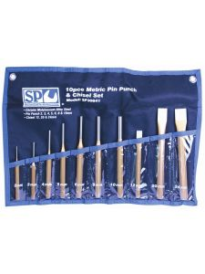 Pin Punch & Chisel Set 10pc - SP Tools