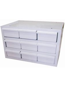 Storage box 9 drawer | SP Tools Custom series - 432 x 300 x 305