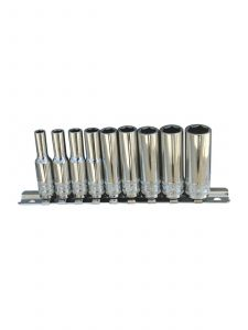"SP Tools SP20141 1/4""Dr Deep Socket Rail 9pc SAE - 6pt"